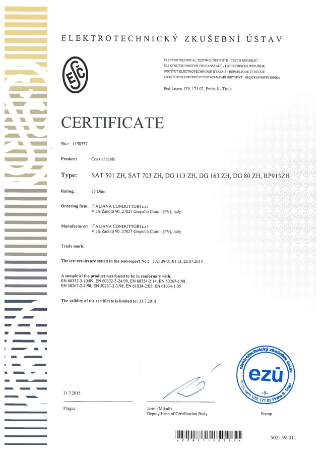 Safety Certificate Flame Retardancy Lszh Cables